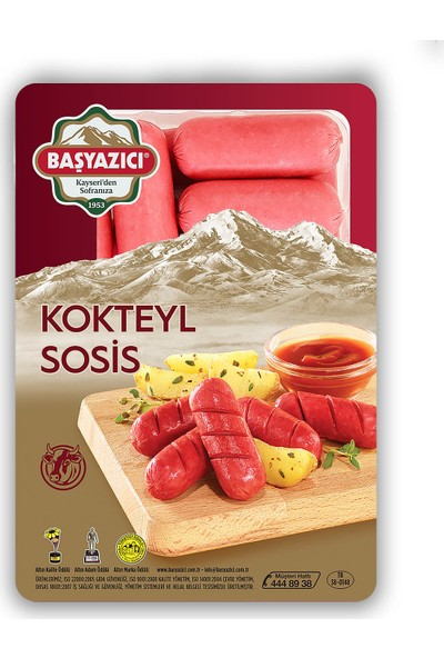Başyazıcı Kokteyl Sosis 350 gr