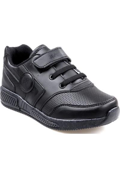 Arvento 115 Erkek Çocuk Siyah Günlük Spor Ayakkabı