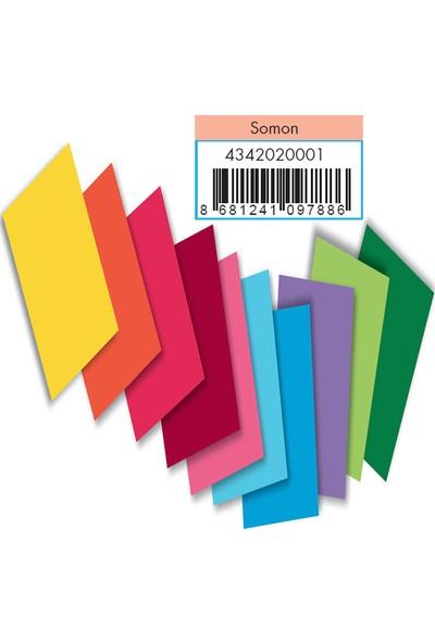 Adel Fon Kartonu Somon 50X70 Cm 100 Lü (1 Paket 100 Adet)