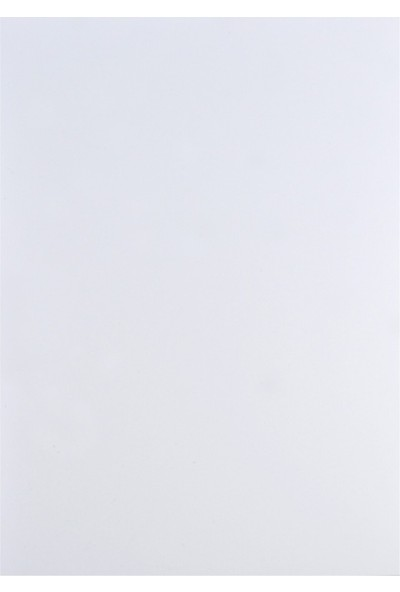 Bafix Eva Düz Renk 2.0 MM 50X70 Cm Beyaz 10 Lu (1 Paket 10 Adet)