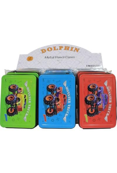 Cem Dolphin Metal Kalem Kutusu Art-71B Karışık Renklerde