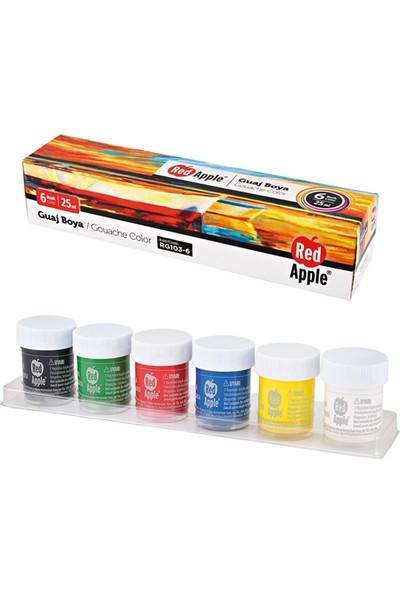 Kırmızı Elma Rg 103-6 Red Apple Guaj Boya 6X25 Ml