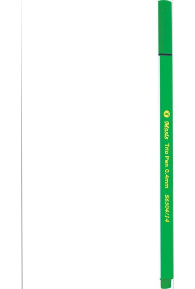 Masis Keçe Uç Kalem Açık Yeşil 10 Lu S6504-14 (1 Paket 10 Adet)