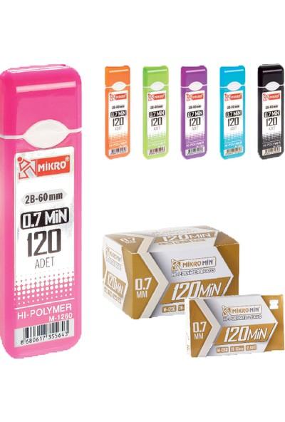Mikro M-1260 Min 0,7 Mm Versatil Kalem Ucu 60 Mm 12 Li (1 Paket 12 Adet)