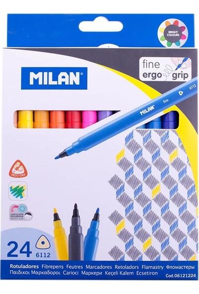 Milan Keçeli Boya Kalemi 24 LÜ ML80159