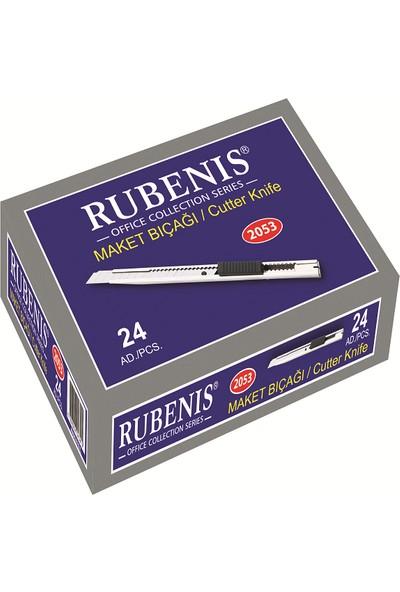 Rubenis 2053 Maket Bıçağı Cep Tip Sürgülü Kilitli