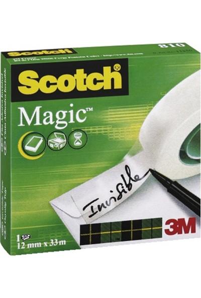 Scotch 810 Magic Bant 19X33 Mt Promosyon Paket 11+3 81933R14