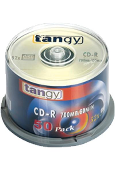 Tangy Cd-R 700 Mb 80 Min 2X-52X 50 Li (1 Paket 50 Adet) 10394