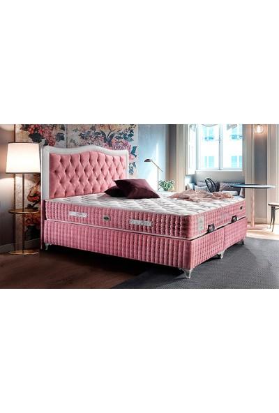 Yıldız Mobilya Rose Yatak Seti Baza + Başlık + Yatak