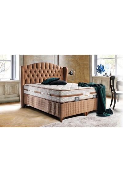 Yıldız Mobilya Cashmere Yatak Seti Baza + Başlık + Yatak