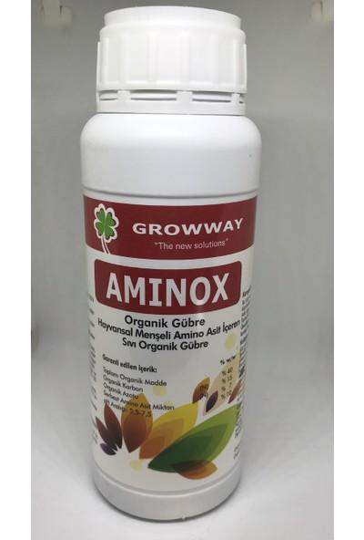 Growway Aminox Deniz Yosunu Azot Ve Aminoasit İçeren Organik Gübre 1Lt