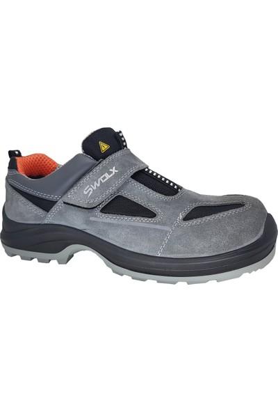 Swolx Clas-X12 Süet S1P Elektrikçi Ayakkabısı