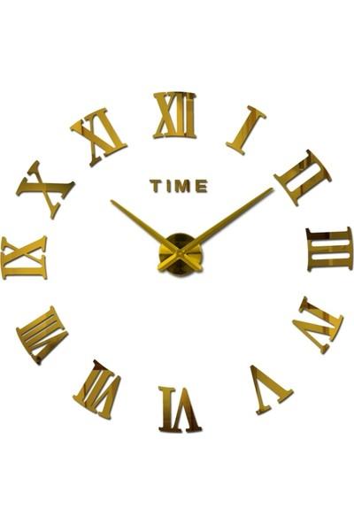 Dıy Clock Yeni Nesil 3D Duvar Saati model 8