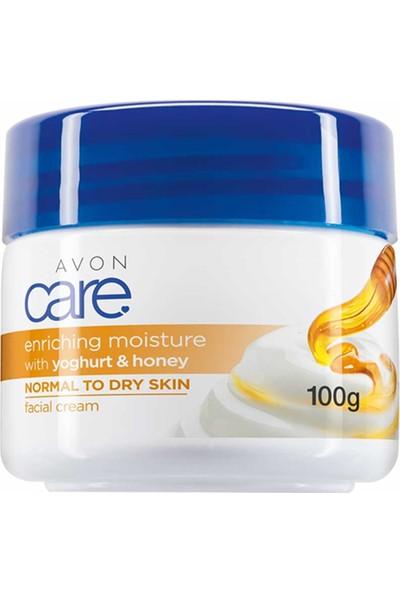 Avon Care Yoğurt ve Bal Özlü Yüz Kremi 100 ml