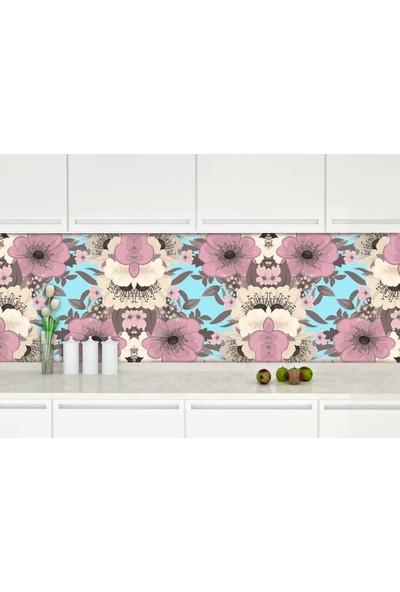 Dekoratifmarket 60 cm x 400 cm Mutfak Tezgah Arası Folyo
