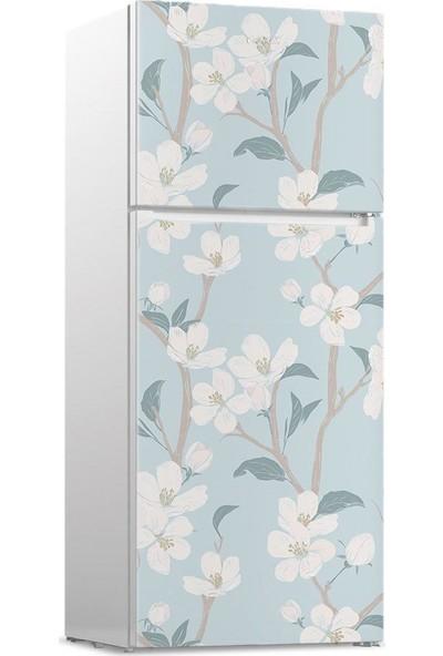 Dekoratifmarket Buzdolabı Kapağı Kaplama Sticker Folyo