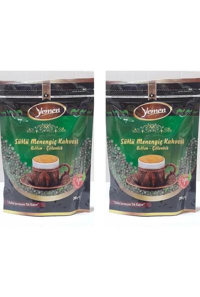 Yemen Sütlü Menengiç Kahvesi 2X200 gr