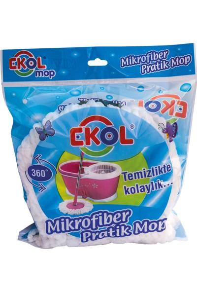 Ekol Mikrofiber Dönerbaşlı Mop Yedek