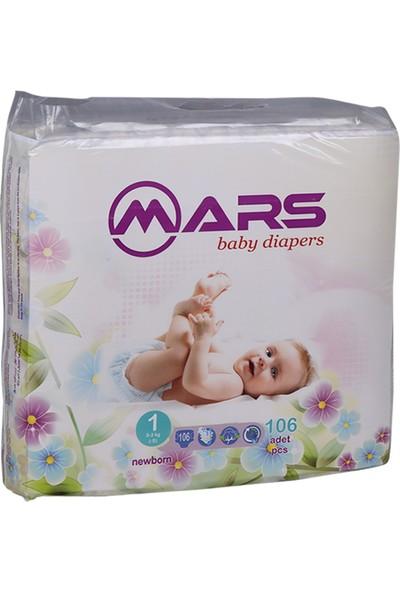 Mars Baby Diapers 1 (Newborn)