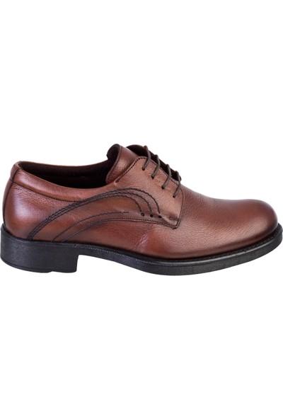 Kiğılı Bağcıklı Deri Ayakkabı