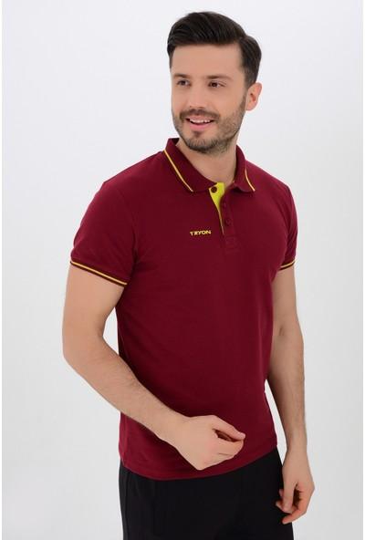 Tyron Erkek Pamuklu Polo T-Shirt Beta