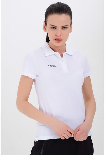 Tyron Kadın Pamuklu Polo T-Shirt Verona