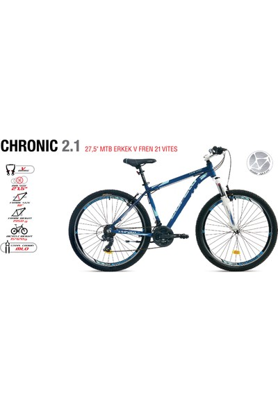 Corelli Chronıc 2.1 Dağ Bisikleti V 27.5 Jant 21
