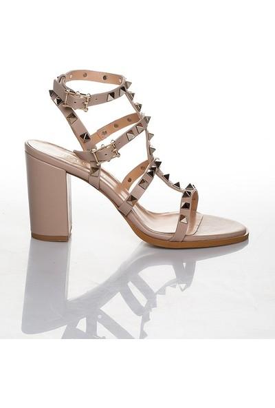 Efem 319-107 Kadın Deri Ayakkabı