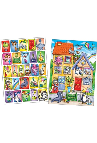 Orchard 330 Look & Find Puzzles - Alphabet