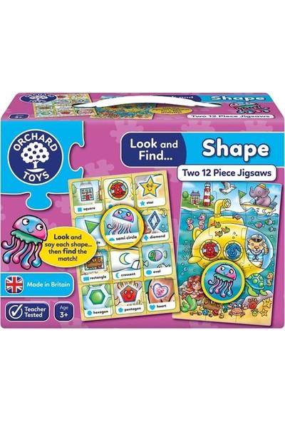 Orchard 332 Look & Find Puzzles - Shape