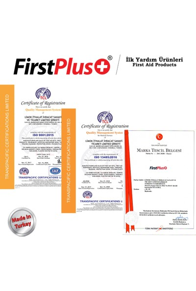 FirstPlus FP 01.101 Motosiklet Ekstra İlk Yardım Seti