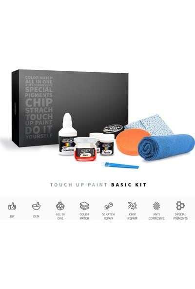 Color N Drive Toyota Auris Renk Kodu [ 8U6 Denim Mavisi ] - Taş İzi Ve Çizik Rötüş Sistemi / Basic