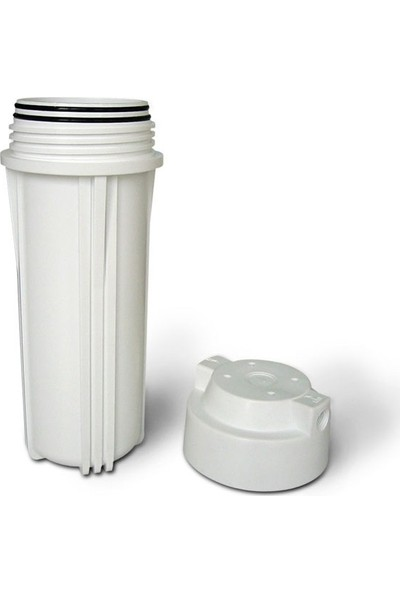 """Waterboss Su Arıtma Cihazları İçin 10"""" Beyaz Hausing Filtre Kabı"""