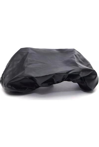 AutoEN Daelim Beagle Motosiklet DERİ Sele Kılıfı Sele Brandası Siyah