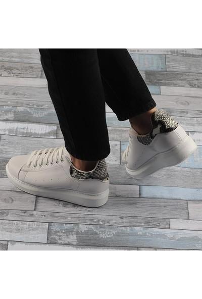Annamaria Beyaz Günlük Bayan Spor Ayakkabı
