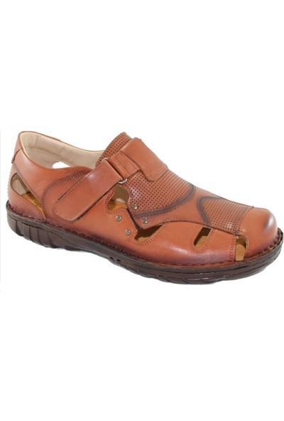 Çetintaş Erkek Deri Sandalet Büyük Numara 4226