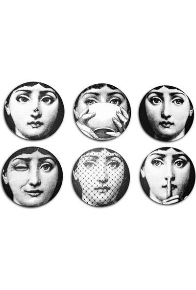 Halk Kitabevi Face Tablo 6'lı Bayan Yüzü