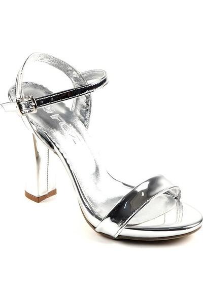 Föz Gümüş Tek Bant Kadın Topluku Ayakkabı