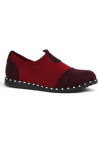 Disar Bordo Taşlı Aqua Günlük Yürüyüş Bayan Ayakkabı
