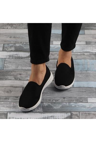 Crush 092 Siyah Aqua Ultra Hafif Günlük Bayan Spor Ayakkabı