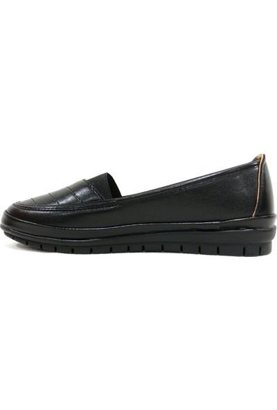 Arızen 029 Siyah Comfort Bayan Ayakkabı