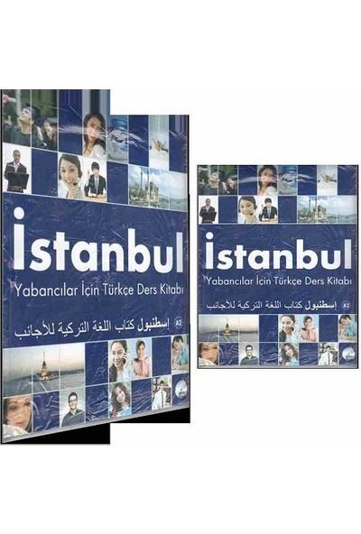 İstanbul Yabancılar İçin Türkçe A2 Temel Seviye Ders Kitabı Çalışma Kitabı ve CD Arapça - Türkçe
