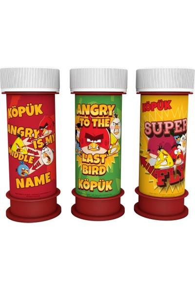 Event Party Store Angry Birds Köpük Baloncuk
