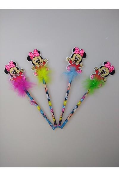 Event Party Store Minnie Mouse Süslü Kalem