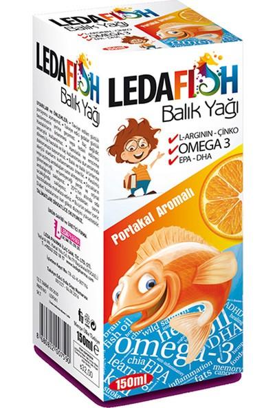 Ledafish Balık Yağı 150 Ml Portakal Aromalı