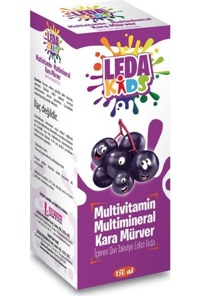 Ledakids Multivitamin Multimineral Karamürver Şurubu 150 Ml