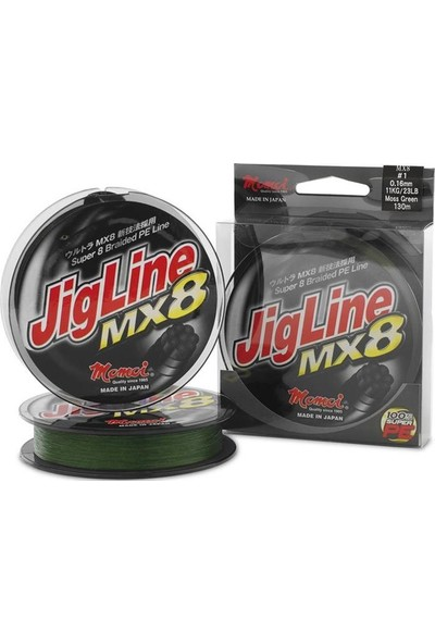 Momoi Jig Line Mx8 300Mt 0.66Mm Yeşil İp