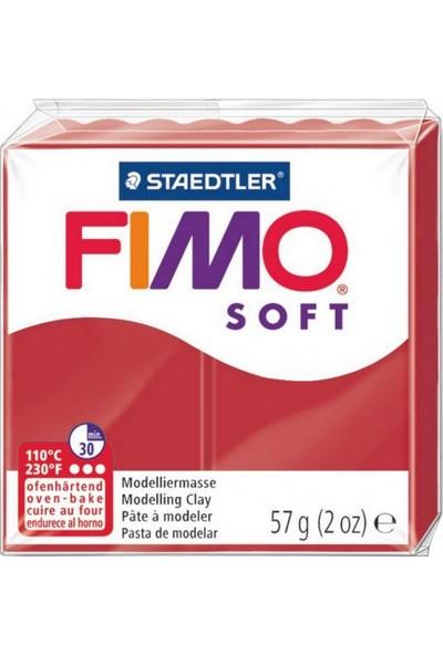 Staedtler Fimo Soft Polimer Kil 57Gr. Christmas Red