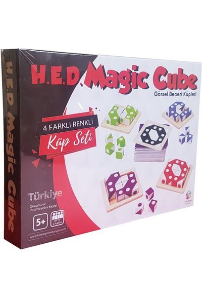 Hobi Eğitim Dünyası Magic Cube Görsel Beceri Küpleri Oyunu