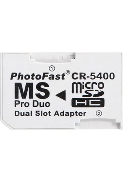 Kuvars Micro Sd Memory Stick Pro Duo Çevirici Hafıza Kartı Adaptörü